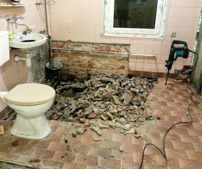 Łazienka od nowa